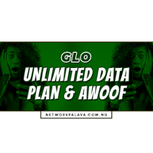 glo unlimited data plan codes